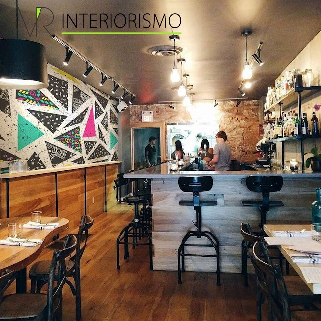 Dise o y decoraci n de interiores de restaurantes for Disenos de interiores para restaurantes